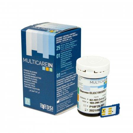 MultiCareIn Glukoza 50 szt