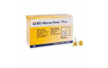 BD Micro-Fine PLUS 0,30 x 8 mm
